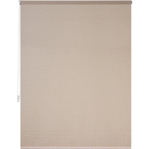 Estor enrollable panda lino beige de 139x250cm