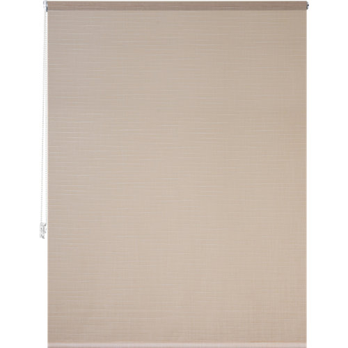 Estor enrollable panda lino beige de 169x250cm