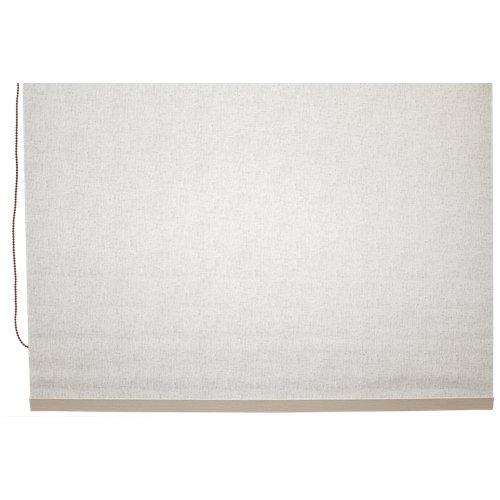 Estor enrollable opaco caleta cr beige de 139x230cm