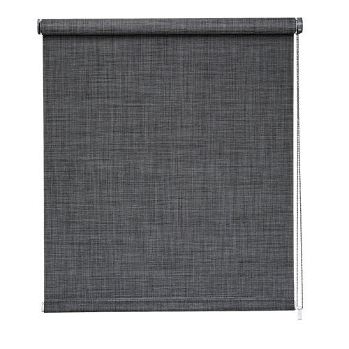 Estor enrollable screen texture gris de 90x250cm