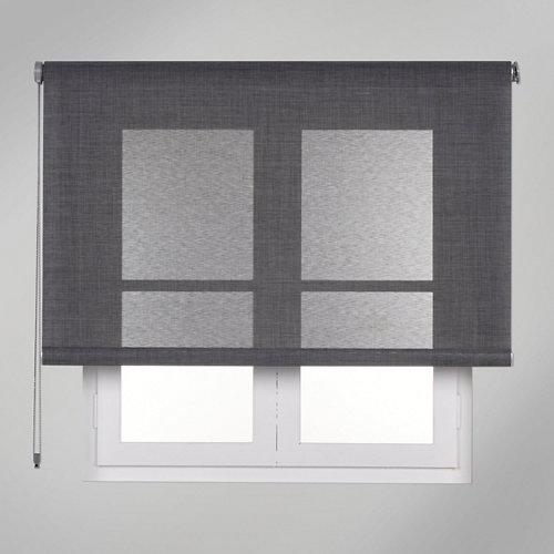 Estor enrollable screen texture gris de 120x250cm