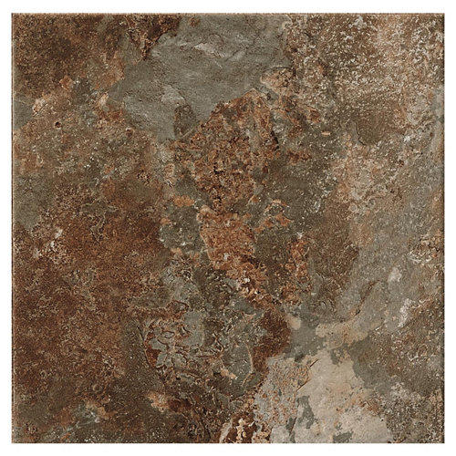 Pavimento artens terril oxido 33,3 x 33,3 cm c3 antideslizante, antihielo