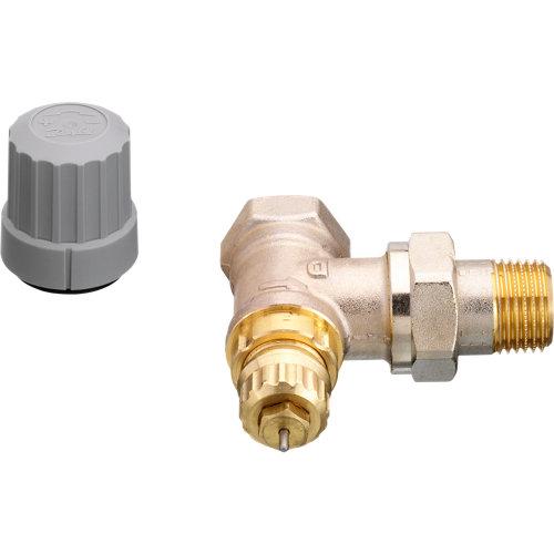 """Válvula termostática manual para radiador danfoss ra 3/8"""" recta"""