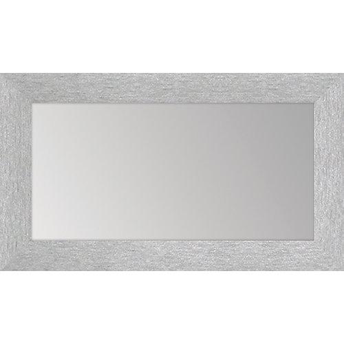 Tapa para contador con espejo plata 27 x 47 cm
