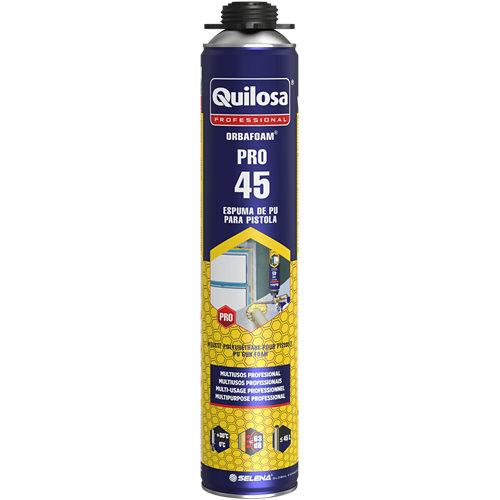 Espuma adhesiva profesional orbafoam pro pistola 750 ml