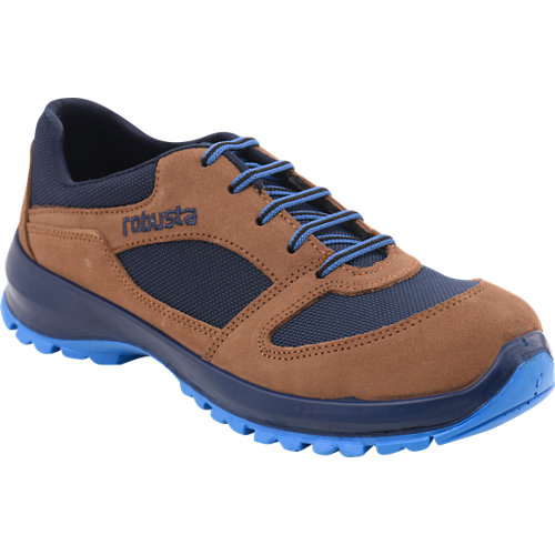 Zapatos de seguridad robusta 92080 s3 marrón t44