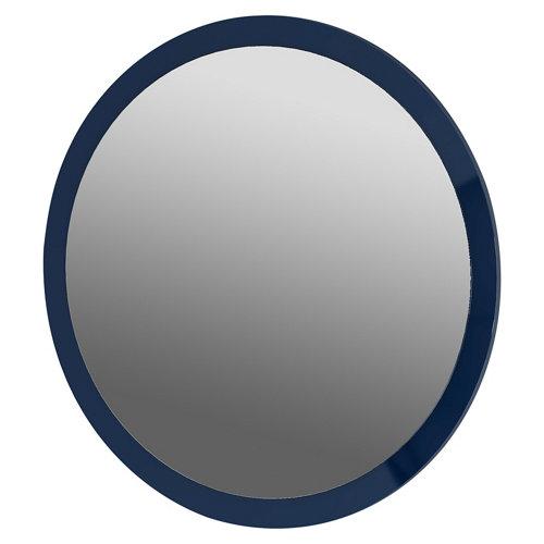 Espejo de baño sphere azul 70 x 70 cm
