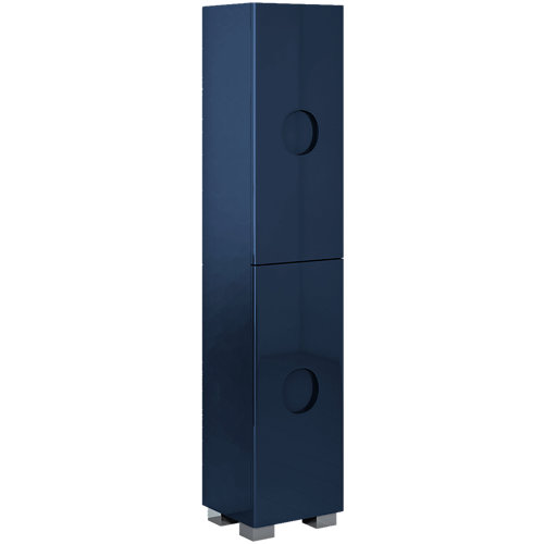 Columna de baño sphere azul 35x161x30 cm