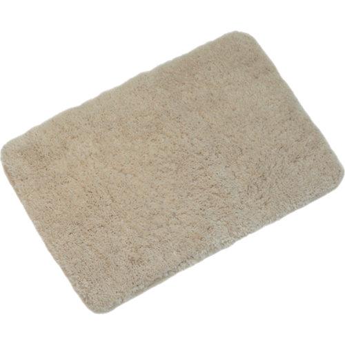Alfombra de baño suau rectangular beige 40x60 cm