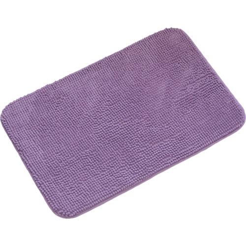 Alfombra de baño piccolo rectangular violeta 45x70 cm