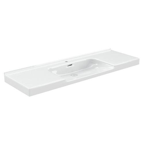 Lavabo suprema blanco 121x46 cm