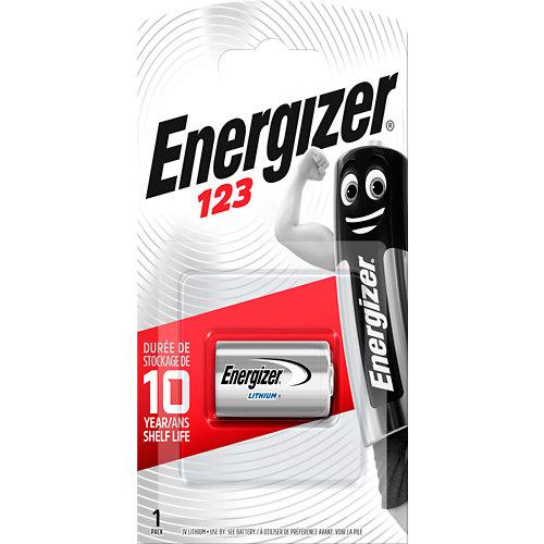 Pila especial energizer cr123