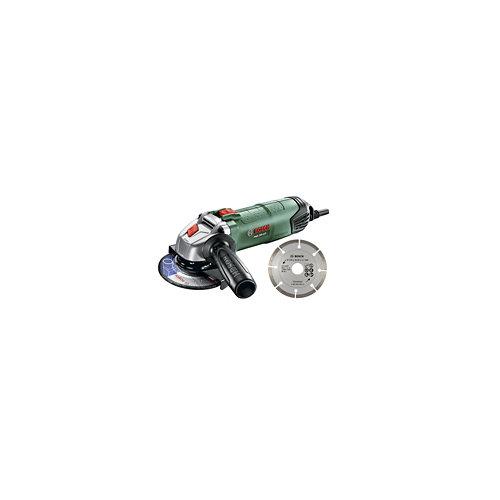 Amoladora bosch 750 w de potencia y 115 mm de diámetro de disco
