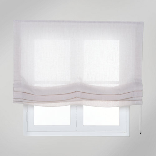 Estor plegable beige fórum 135x250 cm