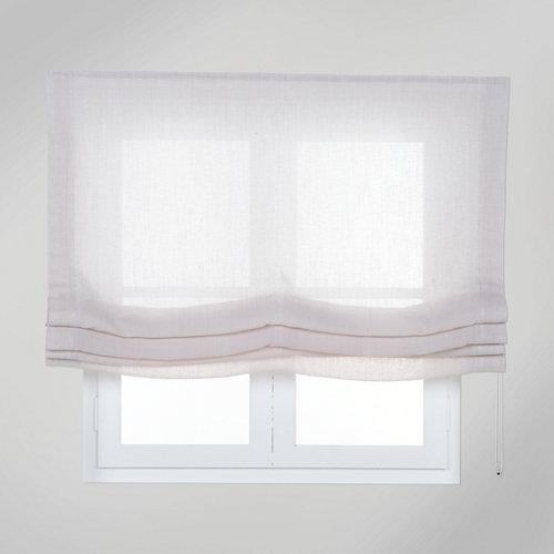 Estor plegable beige fórum 105x250 cm