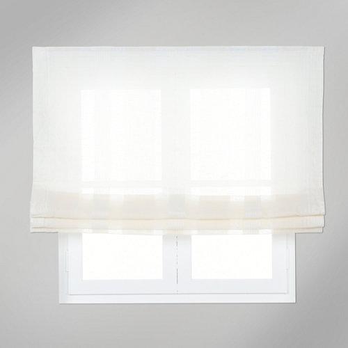 Estor plegable beige gobea 150x175 cm