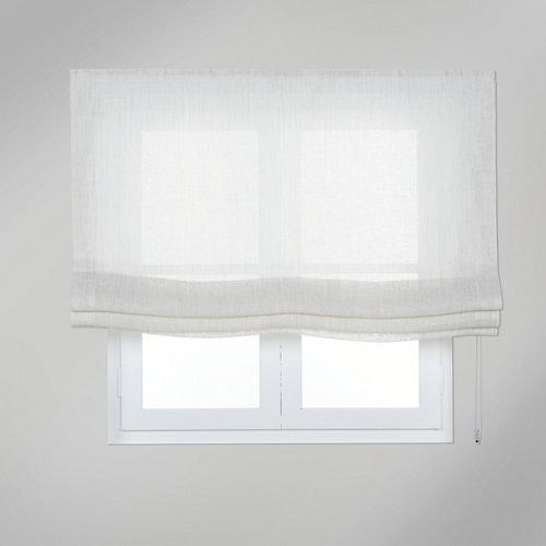 Estor plegable lino vinci 105x250 cm