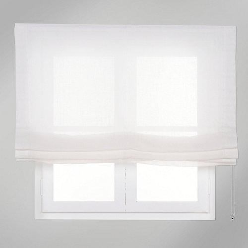 Estor plegable blanco fórum 120x250 cm