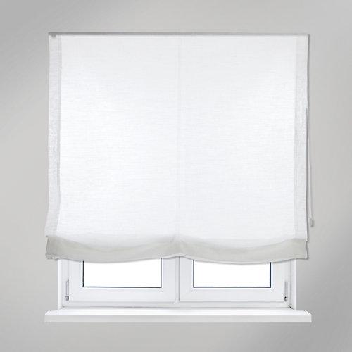 Estor plegable blanco fórum 165x250 cm