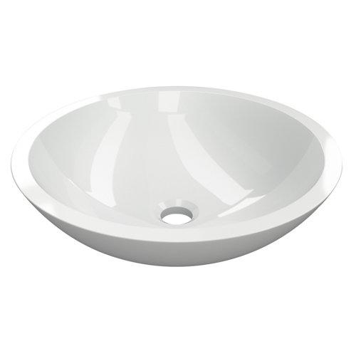 Lavabo candy blanco 41.5x12.5x41.5 cm