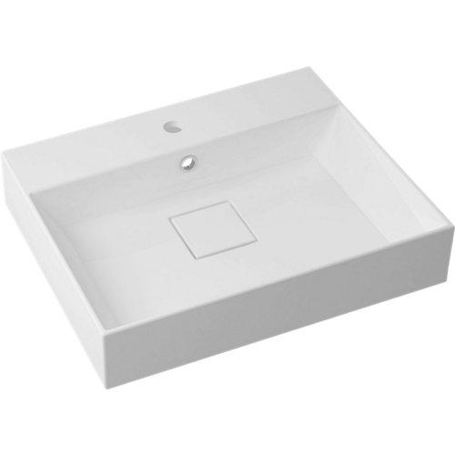 Lavabo pure blanco 60x14.7x10.2 cm