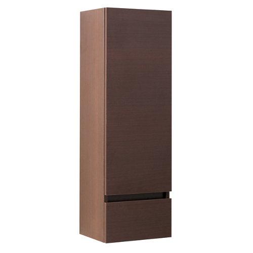 Armario de baño spazio wengué 30x94x24 cm