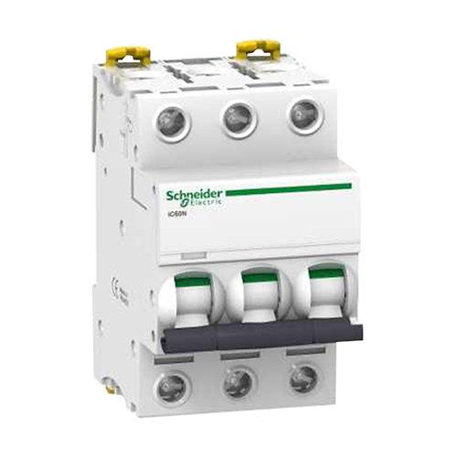 Interruptor magnetotérmico schneider de 25a con 3 módulos