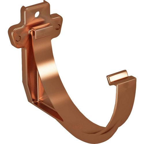 Soporte para canalón de pvc classic cobre