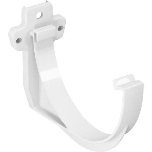 Soporte para canalón classic blanco ø120mm