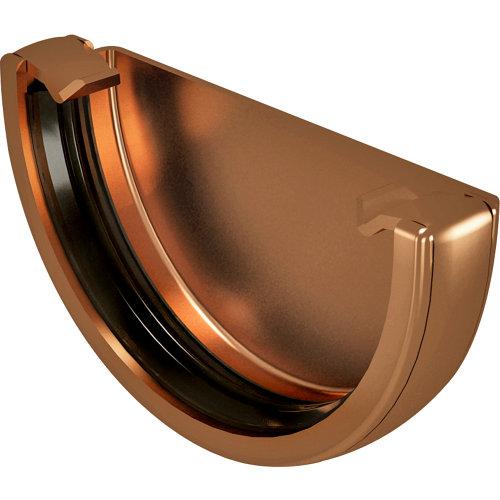 Tapón para canalón de pvc classic cobre