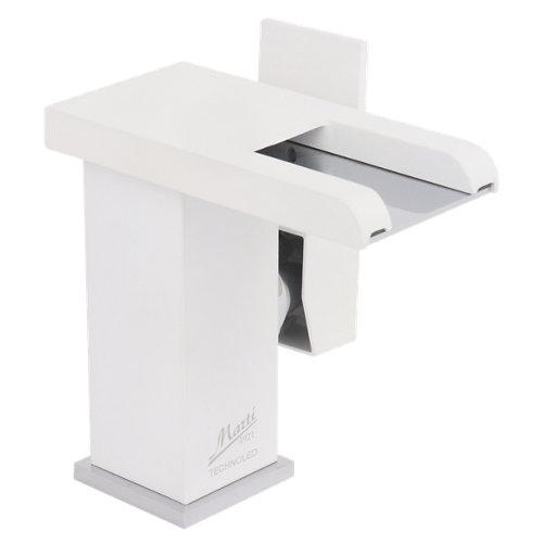 Grifo de lavabo martí tecnoled blanco