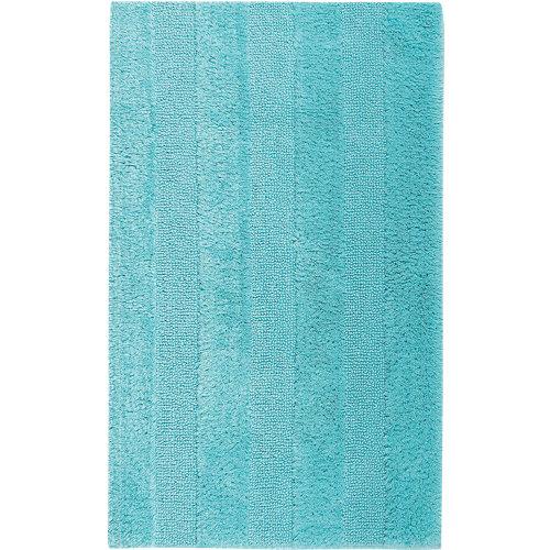 Alfombra de baño new plus rectangular azul 40x60 cm