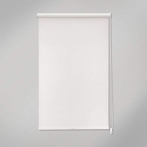 Estor enrollable mini screen industry blanco de 42x190cm