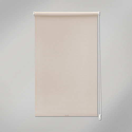 Estor enrollable mini screen industry beige de 72x190cm