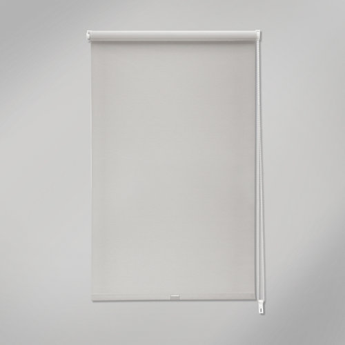 Estor enrollable mini screen industry gris de 52x190cm