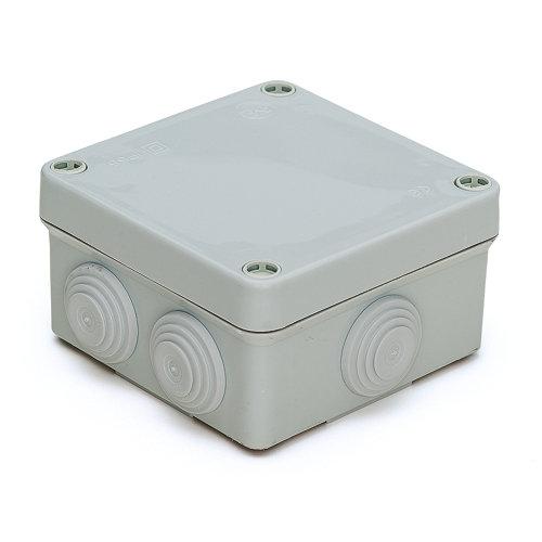 Pack de 6 cajas estancas jsl 10x10x4,5 cm