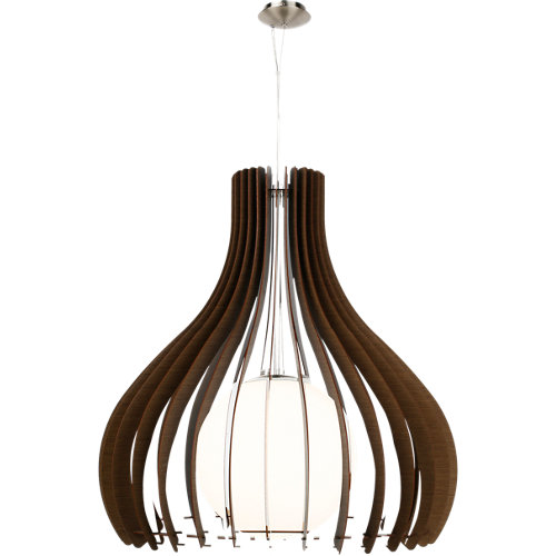 Lámpara de techo tindori marrón