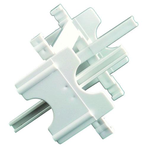 Distanciador sistema de montaje bloque de vidrio 10 mm