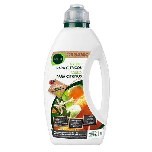 Fertilizante para cítricos geolia uso ecológico 1l