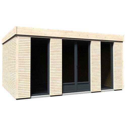 Caseta de madera eco logde 15 de 497x249x365 cm y 18.14 m2