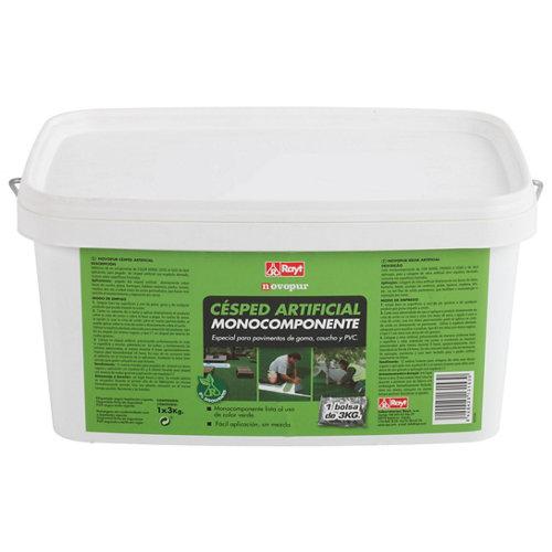 Adhesivo monocomponente para césped artificial novopur 3 kg