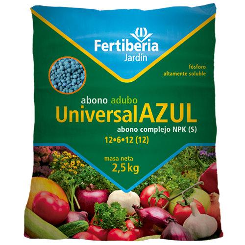 Abono universal azul fertiberia 2,5 kg
