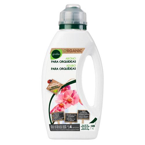 Fertilizante para orquídeas geolia para uso ecológico 500ml