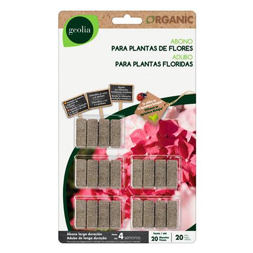 Varitas abono para plantas flor geolia para uso ecológico 20und