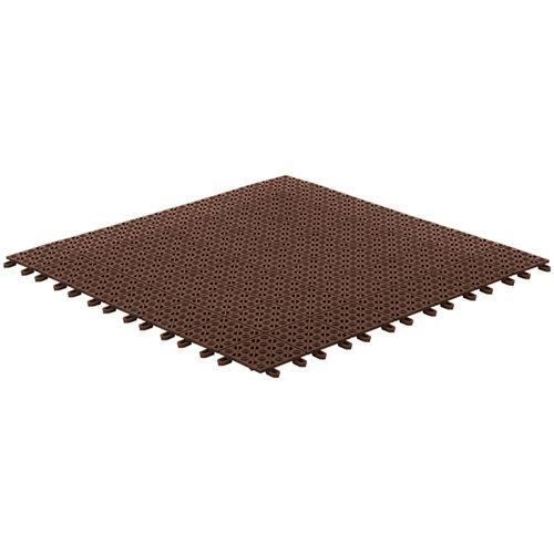 Baldosa de resina para exterior multiplate 55.5x55.5 cm y 11 mm
