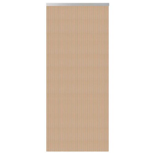 Cortina de puerta multicolor de 90 x 210 cm