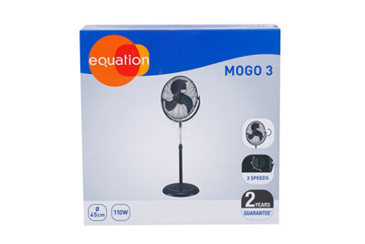 Ventilador industrial de pie EQUATION Mogo 3 · LEROY MERLIN
