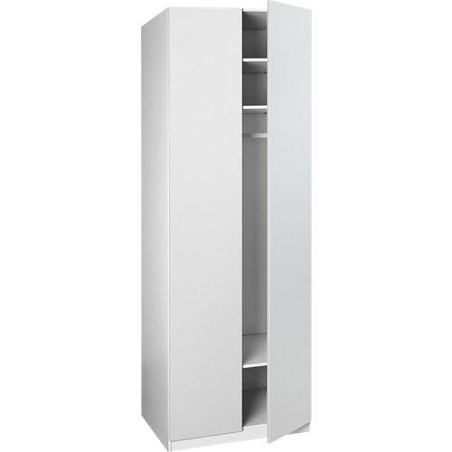 Puerta abatible armario bari blanco de 30x228 cm