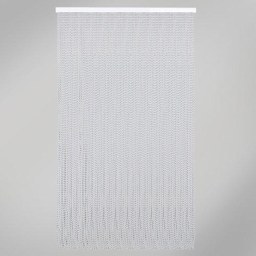 Cortina de puerta gris de 120 x 210 cm