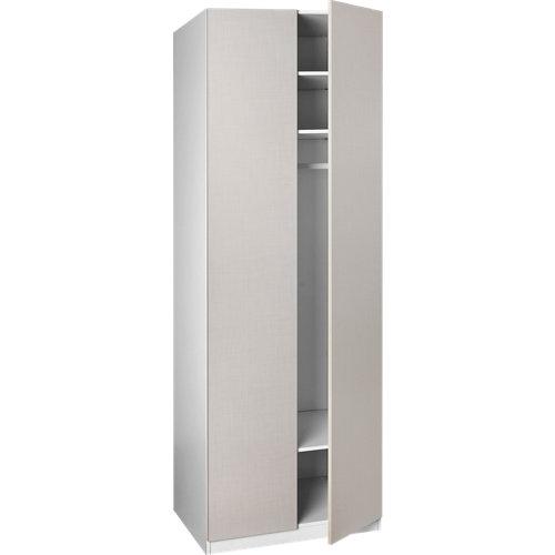 Puerta abatible armario mallorca liso de 30x228.6 cm